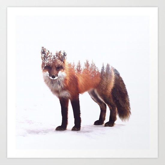 Fox Art Print By Peg Essert Society6