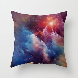 Misterious Space Throw Pillow