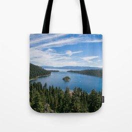 Emerald Bay, Lake Tahoe Tote Bag