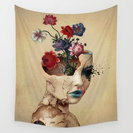 Broken Beauty Wall Tapestry