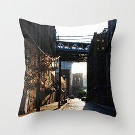 Front Street Throw Pillow
