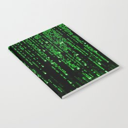 Matrix Binary Code Notebook