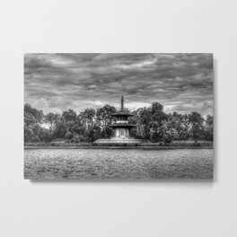 The Pagoda Battersea park London Metal Print