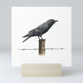 Country Crow  Mini Art Print