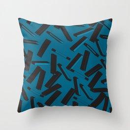 3D Pattern  X 0.2 Throw Pillow