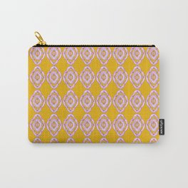 Boho Yellow Carry-All Pouch