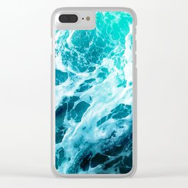 Out there in the Ocean Clear iPhone Case