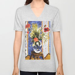 Henri Matisse Poppies 1919 Artwork for Wall Art, Prints, Posters, Tshirts, Women, Men, Kids Unisex V-Neck