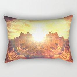 Summer Lemonade_ Rectangular Pillow