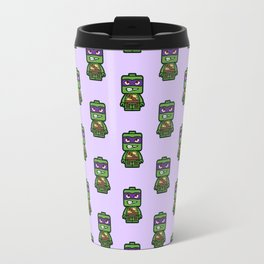 Chibi Donatello Ninja Turtle Travel Mug