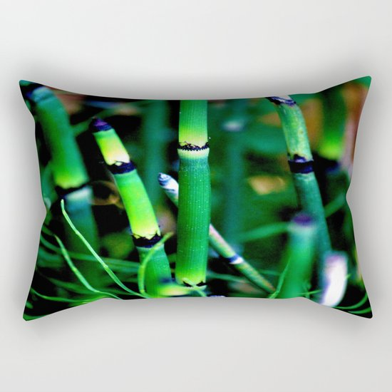 The Scouring Rush Rectangular Pillow