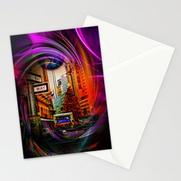 Christmas Shopping  New York Stationery Cards