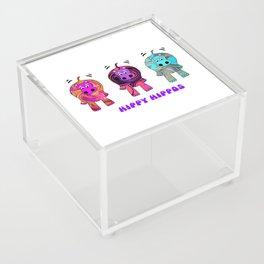 Hippy Hippie Hippos Acrylic Box
