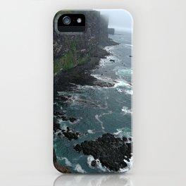 LatraBjarg cliff iPhone Case