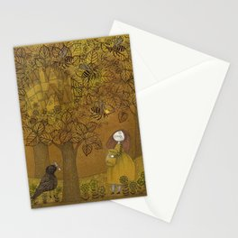 The Queen of Bees and the Princess who loved Honey Stationery Cards