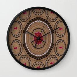 Koi Pattern Wall Clock