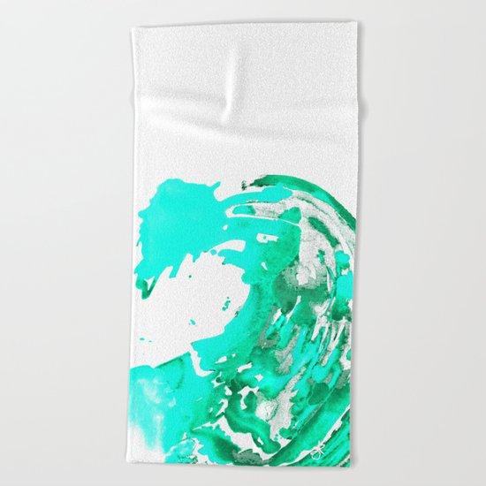 Aqua Aguas Aguas Beach Towel