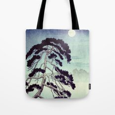 At the Moon in Zensein Tote Bag