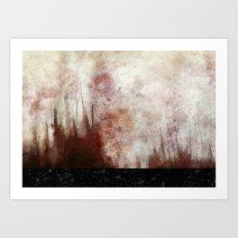 PLAGUESCAPE 5 Art Print
