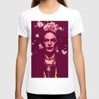 frida T-shirts featuring Frida by Marialaura