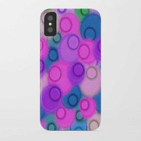Infestation Of Circles iPhone Case