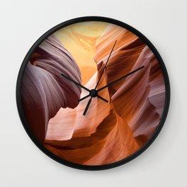 Antelope Canyon, United States Wall Clock