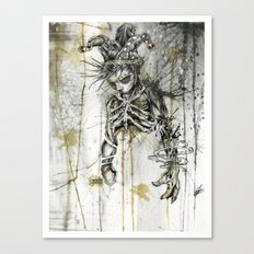 Wasted. Once Again.  Canvas Print