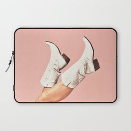 These Boots - Pink Laptop Sleeve