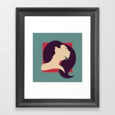 ACT BABE Framed Art Print