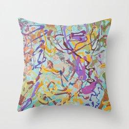 Shamanic Painting 08 Throw Pillow