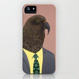 Kea In Suit iPhone Case