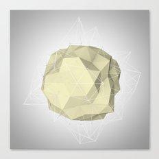 triangle circle Canvas Print