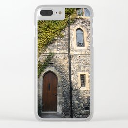 Canterbury Cathedral Clear iPhone Case
