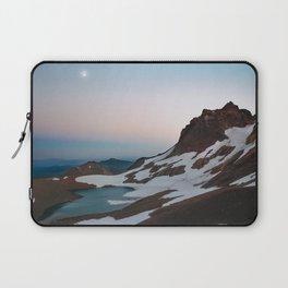 Alpine Lake Moonrise Laptop Sleeve