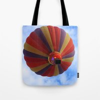 balloon Tote Bags featuring Balloon  by Christine baessler