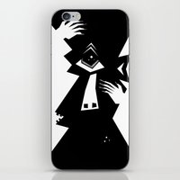 cyclops iPhone & iPod Skins featuring Cyclops by 5wingerone