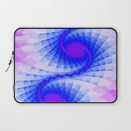Fractal Purple Sky Wings Laptop Sleeve