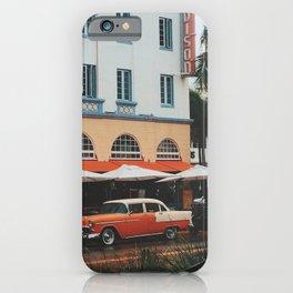 Art Deco Heaven, Miami Beach iPhone Case