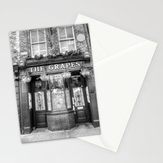 The Grapes Pub London Stationery Cards