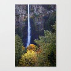 Multnomah Falls Autumn. Canvas Print
