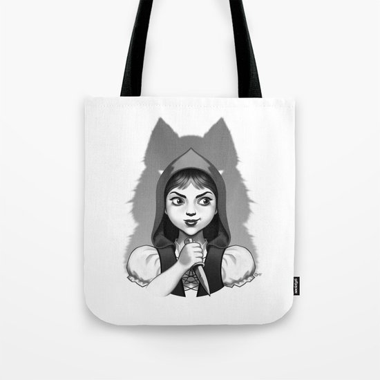 Little Red Riding Hood's Surprise Tote Bag