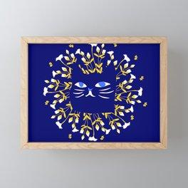 StrangerCat Framed Mini Art Print