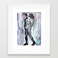 dazed and confused Framed Art Prints featuring Dazed not Confused  by R H Stewart Illustrator