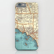 So Cal Surf Map iPhone 6s Slim Case