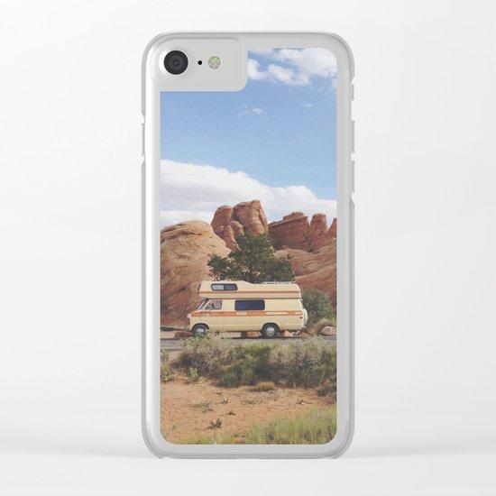 Rock Camper Clear iPhone Case