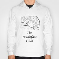 breakfast club Hoodies featuring The Breakfast Club  by Luster