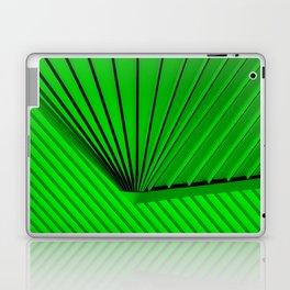 Lime Lines Study Laptop & iPad Skin