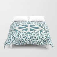 viking Duvet Covers featuring Viking by Truly Juel