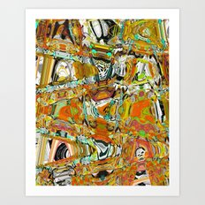 bauble Art Print