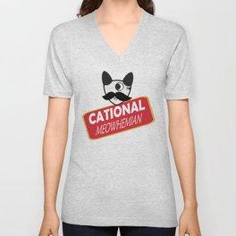 Catty Bo Unisex V-Neck